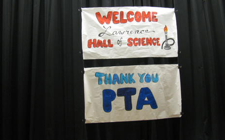 Wood students and staff thank PTA for sponsoring this event!