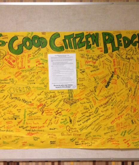 Wood Good Citizen Pledge